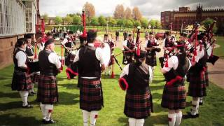 World Pipe Band Championships 2010 - official launch