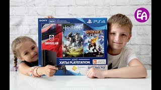 Подарок на День Рождения - Sony playstation 4! Обзор приставки sony playstation 4 slim