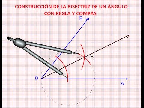 Construcci n de la bisectriz de un angulo con regla y - Como se construye una barbacoa ...