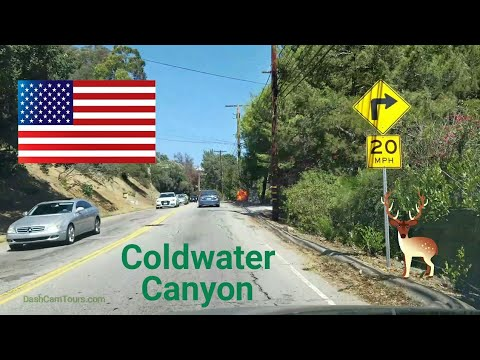 Los Angeles Driving Tour: Coldwater Canyon