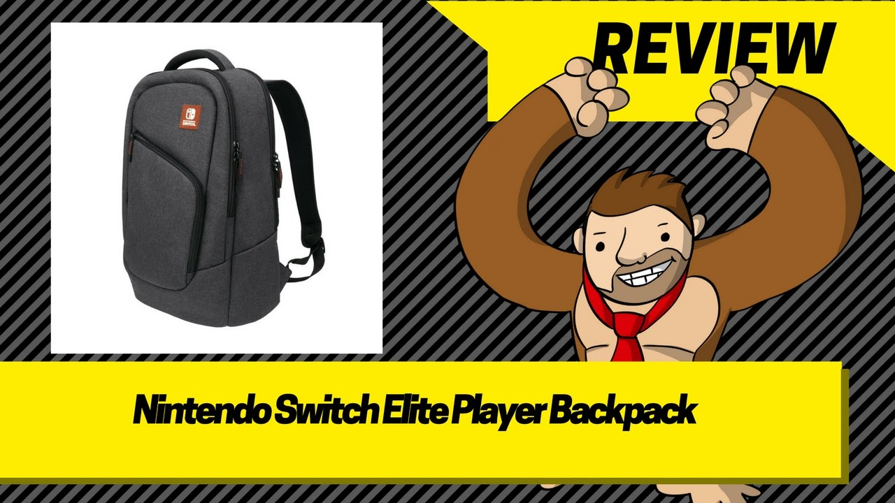 Pdp Nintendo Switch Elite Player Backpack Youtube Nitendo
