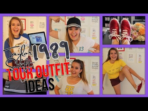DIY Taylor Swift 1989 Tour Inspired Outfit Ideas | BowsByCarolyn