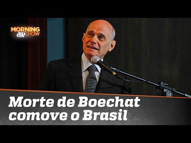Morte do jornalista Ricardo Boechat comove o Brasil
