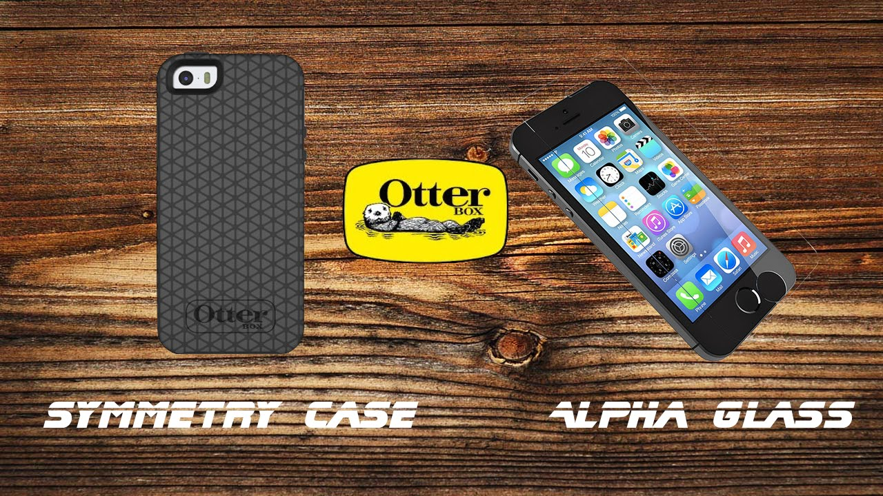 super popular 8487d 6c7af iPhone 5S Otterbox Symmetry + Alpha Glass Review!