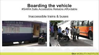 Urban Accessibility Challenges for Persons with Disabilities
