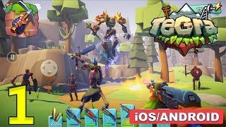 TEGRA CRAFTING AND BUILDING - ANDROID / iOS GAMEPLAY - #1