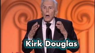 Kirk Douglas Salutes Michael Douglas at 2009 AFI Life Achievement Award streaming