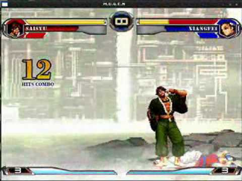 [MUGEN] THE KING OF FIGHTERS 2002 UM HSDM Exhibition