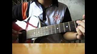 quê hương tuổi thơ tôi - guitar cover by Chun