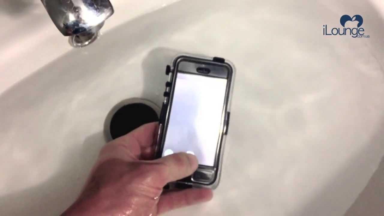 Обзор: Защищенный, противоударный чехол для iPhone 4/4S с .
