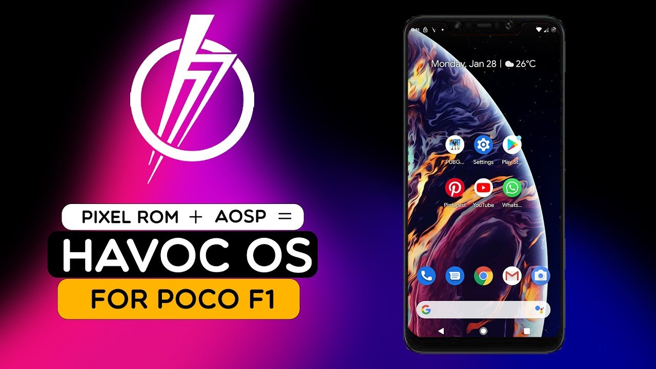 POCO F1 - HAVOC OS REVIEW! || FEATURES || ANDROID 9 0 PIE || Next Level  Android Experience! by Ksk Royal