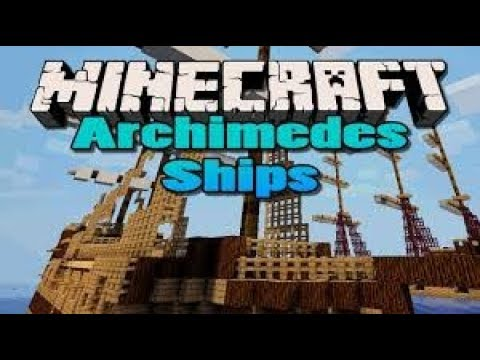 Minecraft: Archimedes' Ships Mod - AIRSHIPS, BUILD YOUR ...