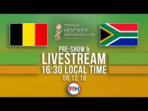 Belgium v South Africa | 2018 Men's Hockey World Cup | FULL MATCH LIVESTREAM