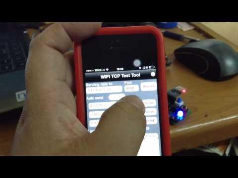 ESP8266 modify AT command Example