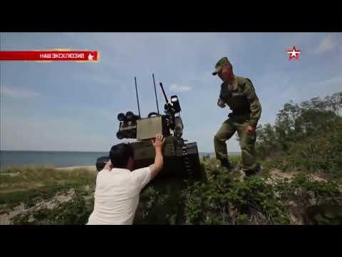 🇷🇺🐖 Российская армия приняла на вооружение боевого робота «Уран-9» 😂