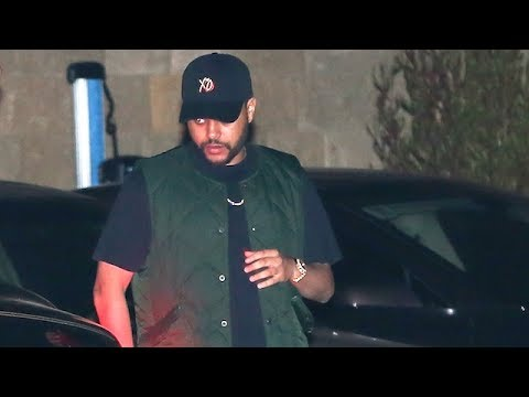 The Weeknd Jets From Paris To Celebrate Selena's 25th Birthday