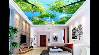 Ceiling Wallpaper Design and Ideas