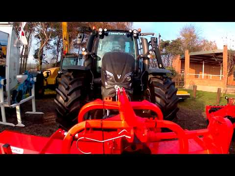 2018 Valtra N174 Direct Tractor With MCconnel Cutter & Maschio Flail Mower
