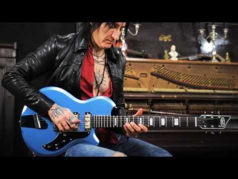 Supro Hampton Guitar Official Demo by Richard Fortus of Guns N' Roses