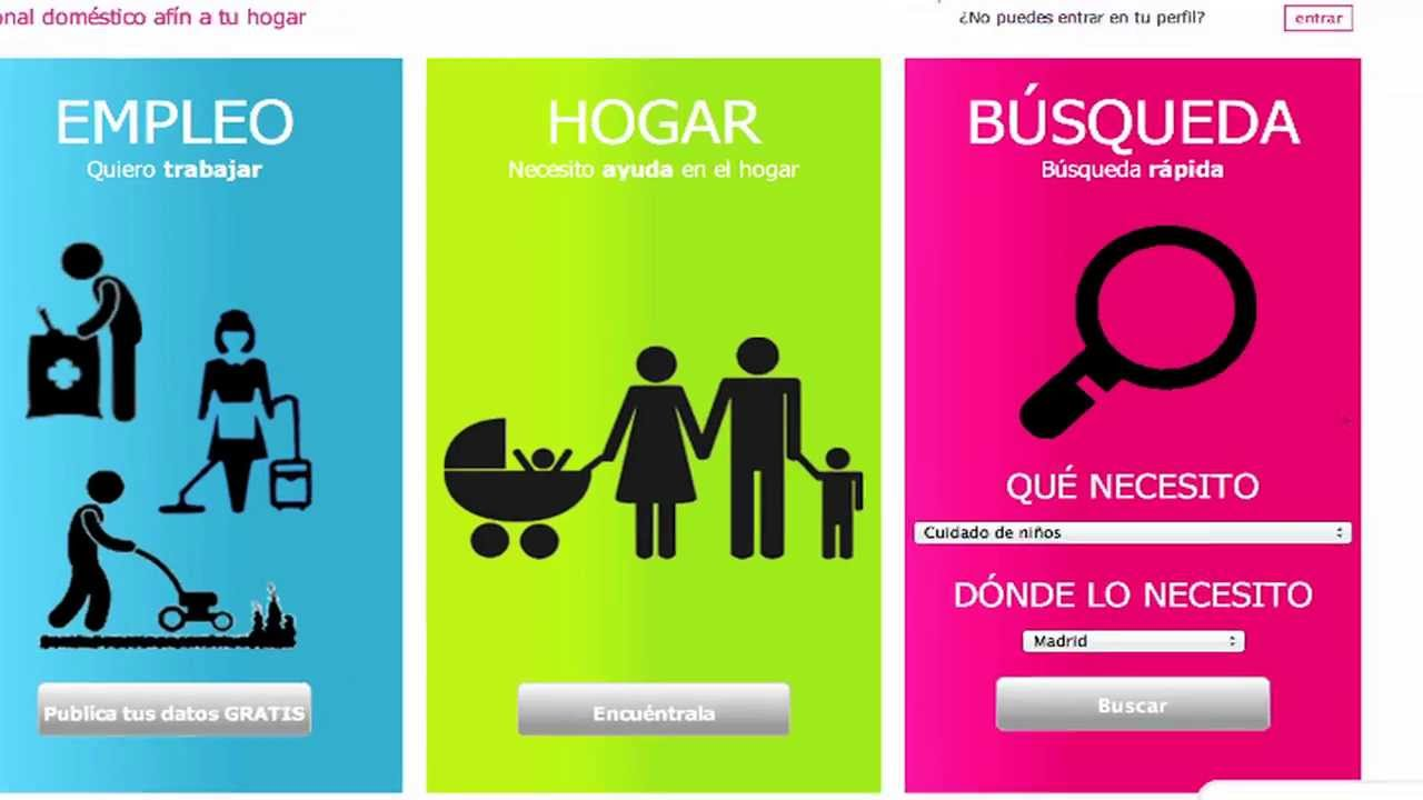 Ayudalia agencia de servicio dom stico en espa a youtube for Agencia de empleo madrid servicio domestico