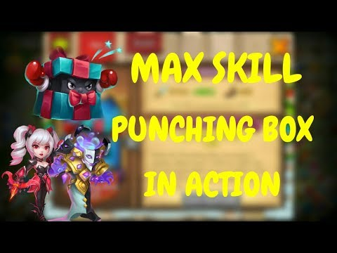 TOO OP I Max Skill Punching Box In Action L