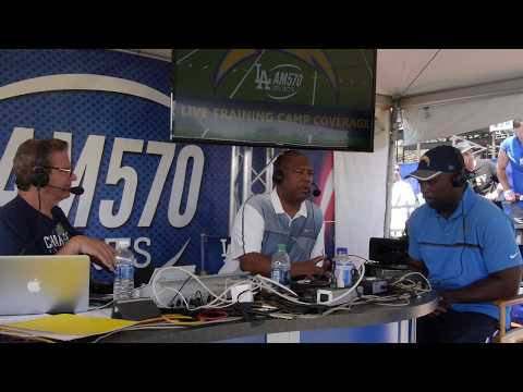 Chargers HC Anthony Lynn joins Fred Roggin and Rodney Peete