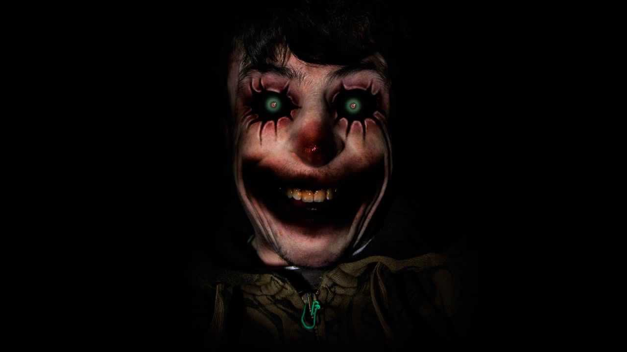 el payaso blanco y negro creepypasta youtube