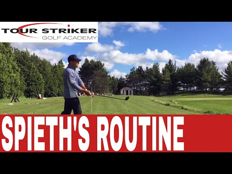 Jordan Spieth's Routine For Success | Martin Chuck | Tour Striker Golf