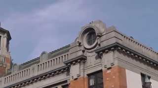 2003年の映画「スパイ・ゾルゲ」のロケ地。北九州市門司区の旧大阪商船...