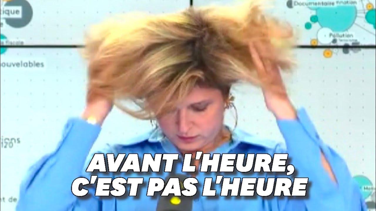 Download Cette journaliste de France info s'est retrouvée à l'antenne un poil trop tôt