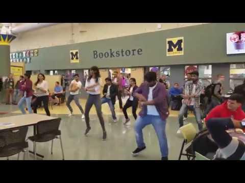 Flashmob at the University of Michigan- Dearborn!