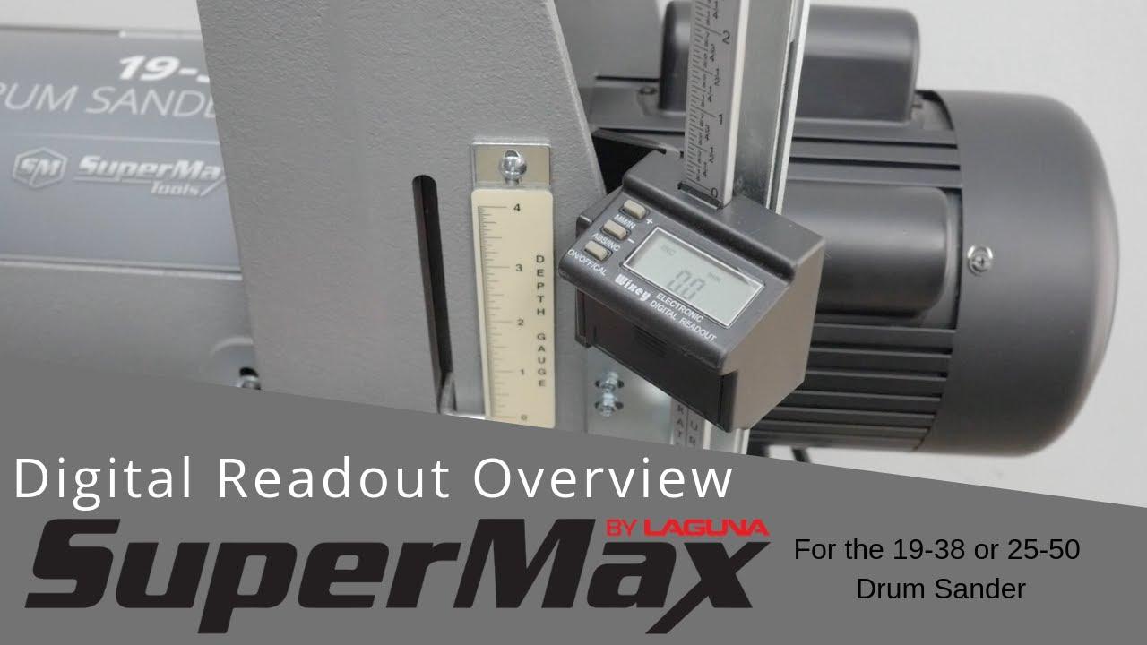 SuperMax - 25-50 Drum Sander