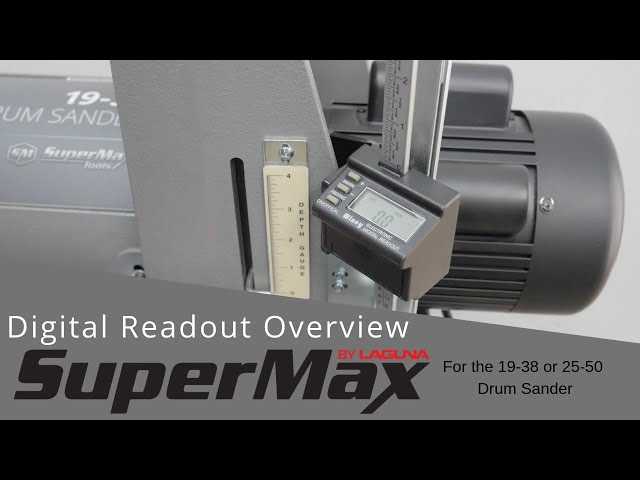 Digital Read Out for the 19-38 or 25-50 Drum Sander | Laguna Tools