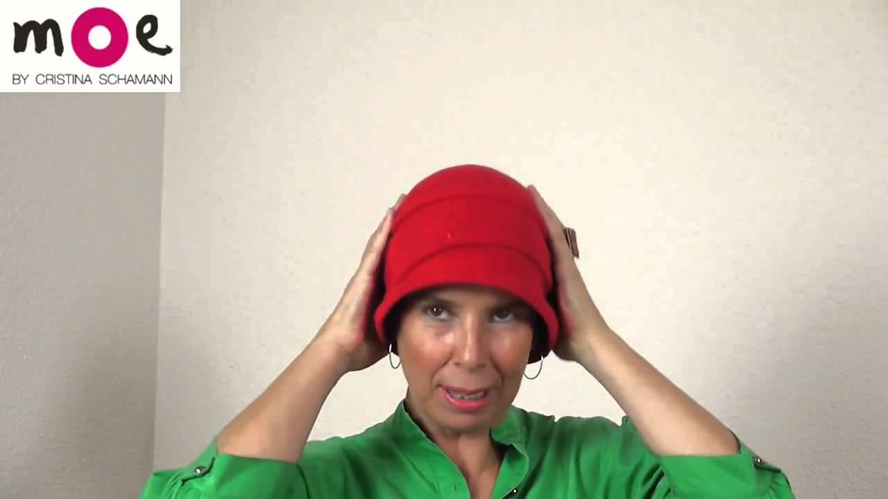 Sombrero para quimioterapia estilo años 20, wwwsombrerosmoe com ...