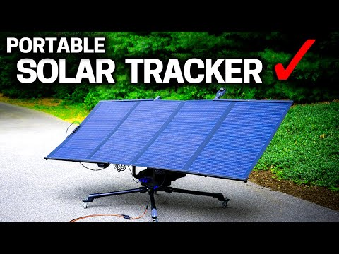 NEVER BE  IN THE DARK AGAIN - Solar Tracker & Ecoflow DELTA MAX Review