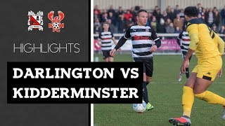Darlington 3-0 Kidderminster Harriers - Vanarama National League North - 2018/19
