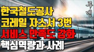 코레일 자소서 쓰는법ㅣ한국철도공사 자기소개서 3번 항목…