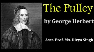 The Pulley by George HerbertBA