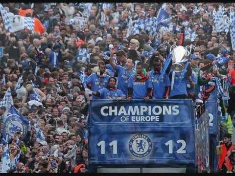 Chelsea FC European Champions League Final 2012