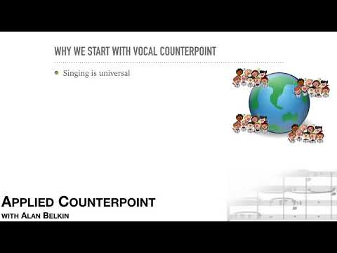 Counterpoint #1 - goals and approach
