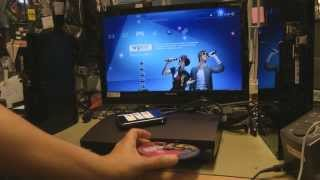 Cobra ODE on PS3 slim demonstration