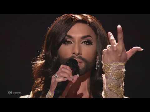 Conchita Wurst - Rise Like A Phoenix (Austria) / 4K LIVE At ESC Final 2014