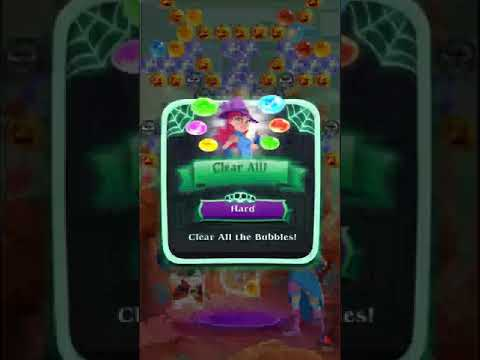 Bubble Witch 3 Saga Level 589 - No Bosters
