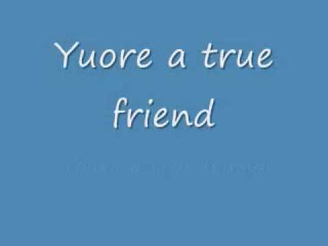 youre a true friend lyrics
