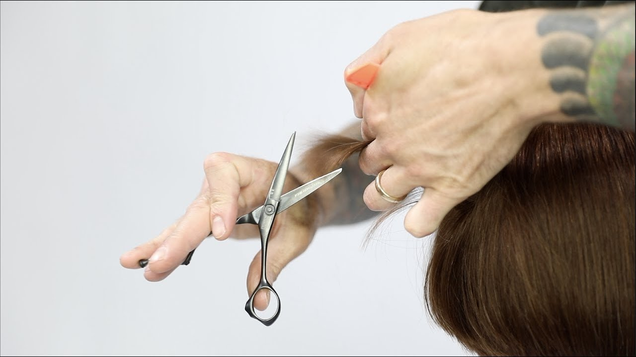 How To Cut a Graduated Bob Haircut Featuring @HAIRDEMARCO | VIDEO ROUGH CUT