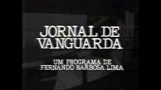 Jornal de Vanguarda (Bandeirantes Rio) 24/08/1988
