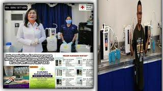 Hand Sanitizer da Disenfektan yang Aman dan Standar WHO, Sudah di pakai oleh PMI kota Bitung