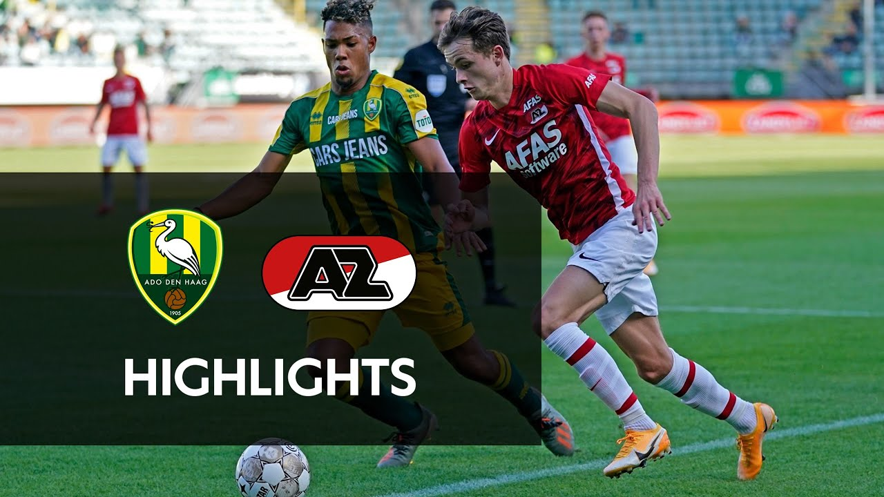 Highlights Ado Den Haag Az Friendly Onefootball