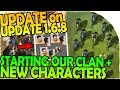 UPDATE on UPDATE 1.6.8 + STARTING OUR CLAN + NEW CHARACTERS- Last Day On Earth Survival 1.6.7 Update