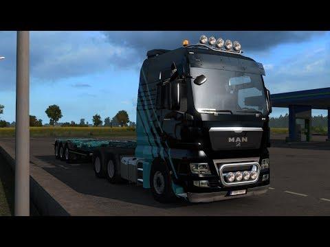 Euro Truck Simulator 2 1.33 Open Beta - Exploring Beyond the Baltic Sea DLC Secret Roads